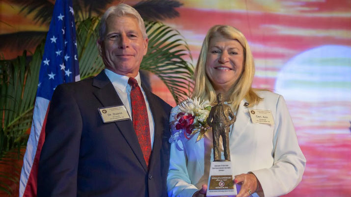 Trailblazing General Receives Florida Tech's Most Prestigious Alumni Award