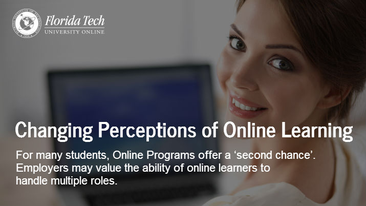 Changing Perceptions of Online Learning