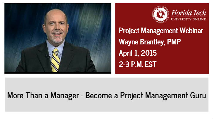 Project Management Focus of Florida Tech Webinar