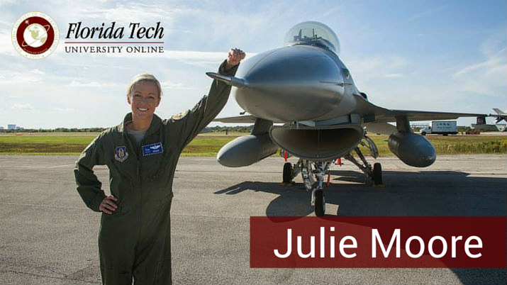 Julie Moore Interview – Flight Path to Florida Tech