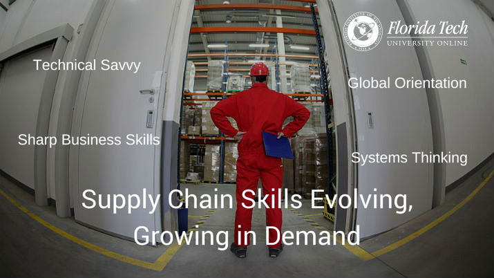 Supply Chain Skills Evolving, Growing in Demand