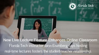 Live Lectures Enrich Online Classroom Experience