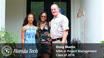 Doug Martin, MBA in Project Management, Class of 2016