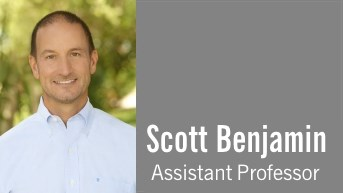 A Conversation with Scott Benjamin, Assistant Professor