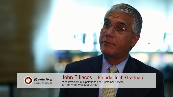 Florida Tech Grad Explains Role as Tampa International Airport VP